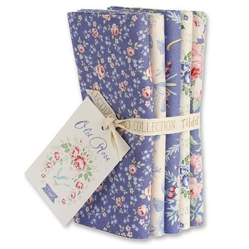 Tilda Old Rose Blue Fat Quarter