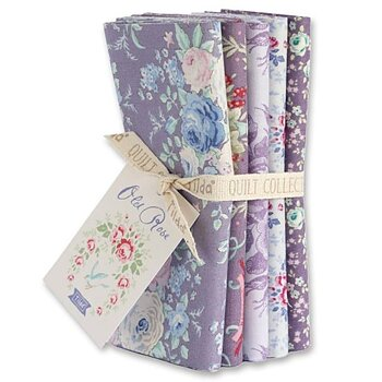 Tilda Old Rose LIiac/Lavender Fat Quarter