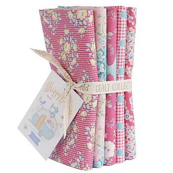 Tilda Happy Camper Rose Fat Quarter