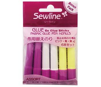 Sewline Lim Refill 3 Färger