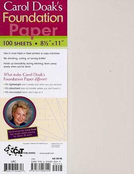 Papper till Foundation Piecing