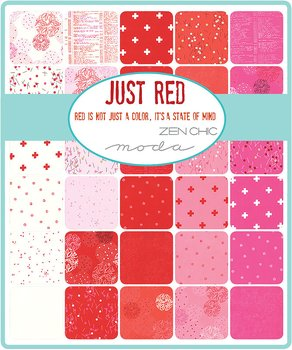 Zen Chic Just Red Charm Pack