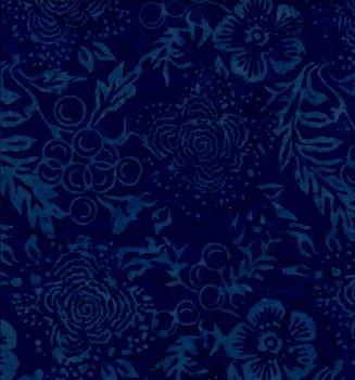 Batik Blå