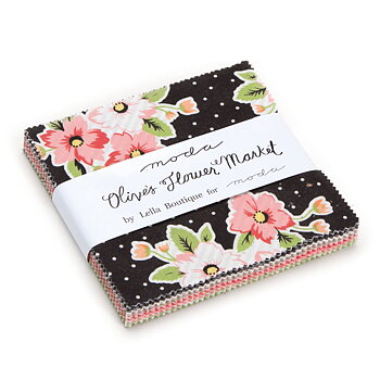 "Olive´s Flower Market Charm Pack 5"""