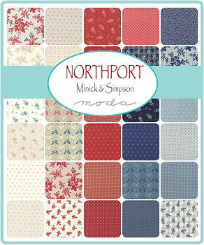 Moda Northport Minick & Simpson Fat Quarter Bundle