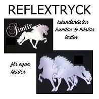 Reflex tryck till Egna kläder