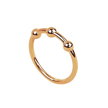 MILA JUPITER ring - gold plated