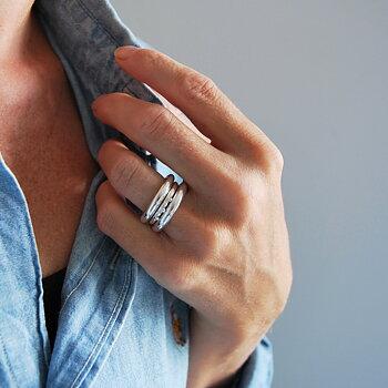 MILA COMBO ringar 3,5 mm + Dagg ring