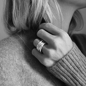 MILA COMBO rings 3,5 mm + 3 in One ring