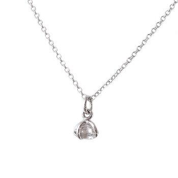 MILA UNCUT Herkimer Diamond Halsband
