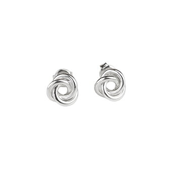 MILA 3 in One Knot ear studs