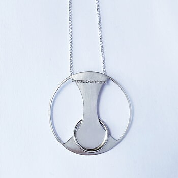 SAMPLE Hourglass pendant