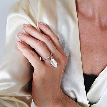 MILA MY GARDEN ring, silver