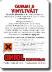Gummi & Vinyltvätt 5 L