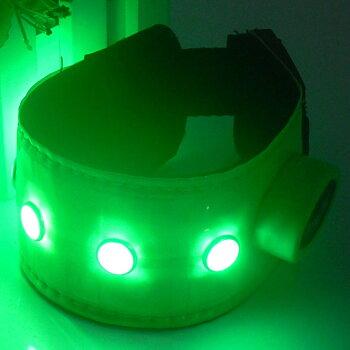 Benreflex LED- grön