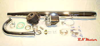 60cc (small) HQ Tuning kitcylinder Sachs 4,8 ps , 3 speed handshift