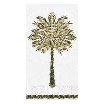 Caspari- Guld palm, Buffé servett