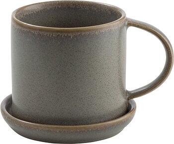 Ernst-Kopp med fat, grå 7cm