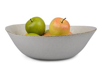 Form Living- Salladsskål, vit