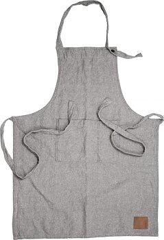 Ernst- Förkläde bomull/linne, Grå