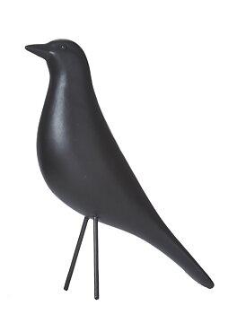 Wikholm form- Fågel, svart 24cm
