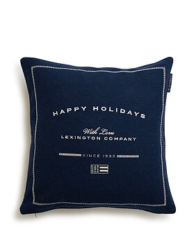 "Lexington- Kuddfodral ""Happy Holiday"""