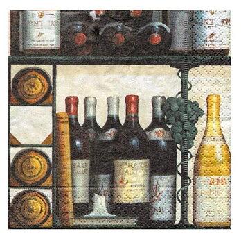 Caspari- The wine Cellar, Lunch servett