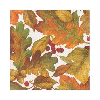 Caspari- Autumn Leaves, Lunch servett