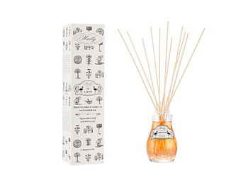 Reed diffuser –  Chinotto