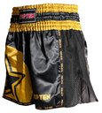 Topten Thai/Kickboxningsshorts Star Svart/Guld