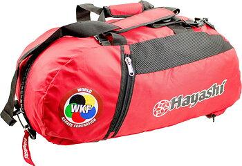 Hayashi WKF Gymbag/Ryggsäck, Röd Large
