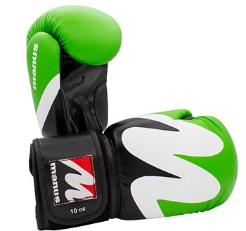 Manus Boxingglove WAVE, Green/White/Black 10-16 oz