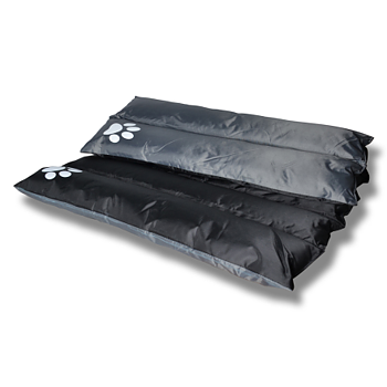 Hunddyna Traveller 95 x 75 cm svart
