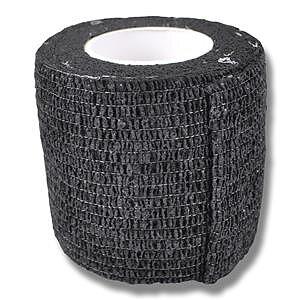 Elastiskt självhäftande bandage för hund svart