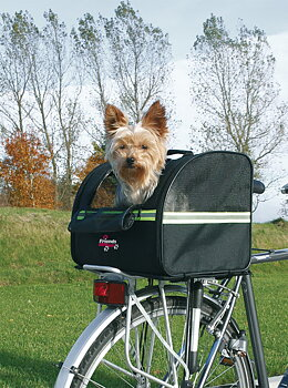 Cykelkorg Biker-Bag med reflex Svart 35x28x29 cm