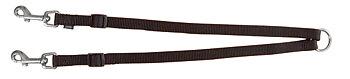 Premium parkoppel, XS/M: 40-70 cm/15 mm, svart