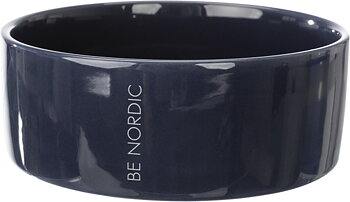 BE NORDIC keramikskål,0.8 l/ø 16 cm, mörkblå