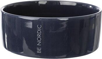 BE NORDIC keramikskål,1.4 l/ø 20 cm, mörkblå