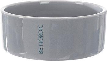 BE NORDIC keramikskål,0.3 l/ø 12 cm, grå