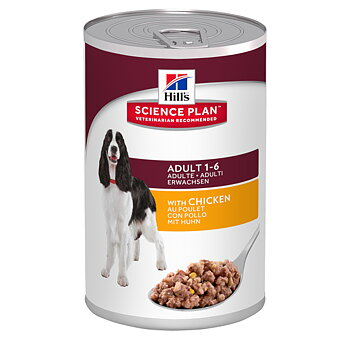 Hills Canine Adult Chicken burk 12x370 g