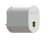 ILOQ Cylinder oval C10S.1 utomhus stål