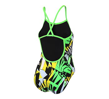 Zone3  High-Jazz 2.0 Strap Back Swimsuit