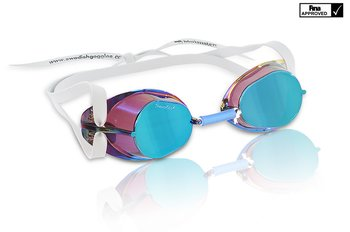 Malmsten Swedish Goggles Metallic -Blue Oil