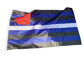 Leather XL party Flag  90 x 150cm