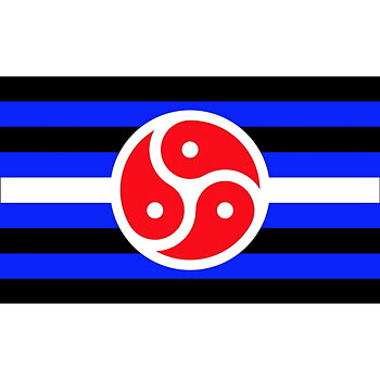 BDSM Flag 90 x 150cm D-loop