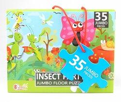 Pussel jumbo insekter