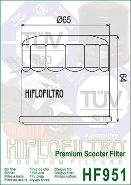 Filterkit 1 Honda CRF1000 African Twin 2016-
