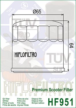 Filterkit 1 Honda CRF1000DCT African Twin 2016-