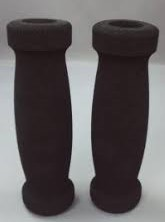 Gummihantag Set Foam Svarta Grips 172300