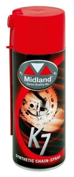 Midland K7 syntetisk  Kedjespray  400 ml